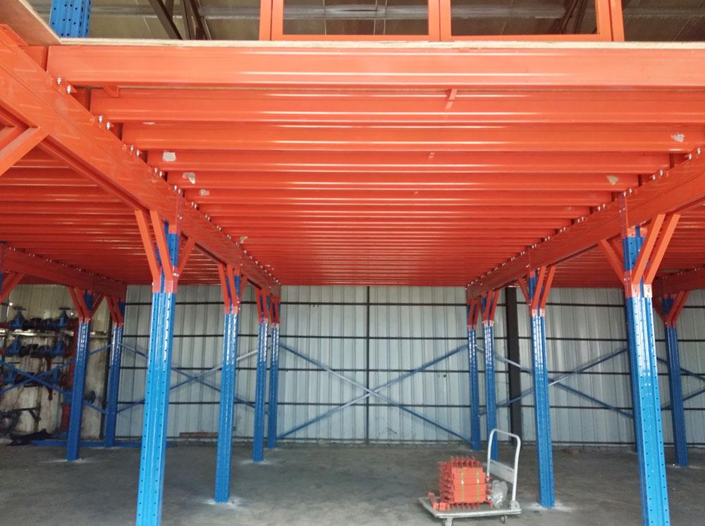 热烈庆祝1500公斤/平米超重钢平台项目顺利竣工并投入使用