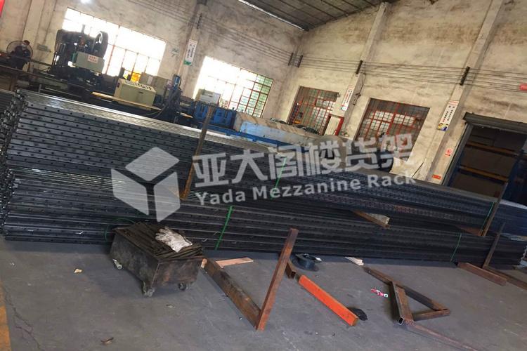广州亚大重型货架厂—因为好质量而带来源源不断的订单