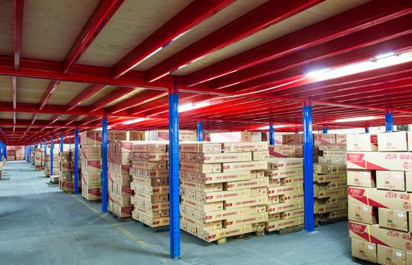 重型阁楼货架的结构设施规范化