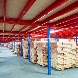 亚大仓库重型货架应用在化工类企业中确实很好