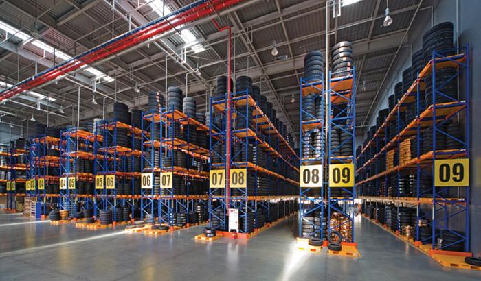 亚大实业重型货架的设计与应用